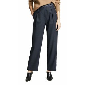 Rag & Bone James Plaid Wool Straight Leg Pants